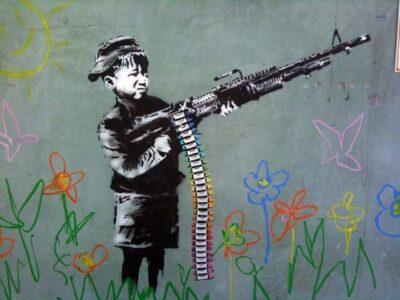 Banksy: Street Art Kunst eines Phantoms