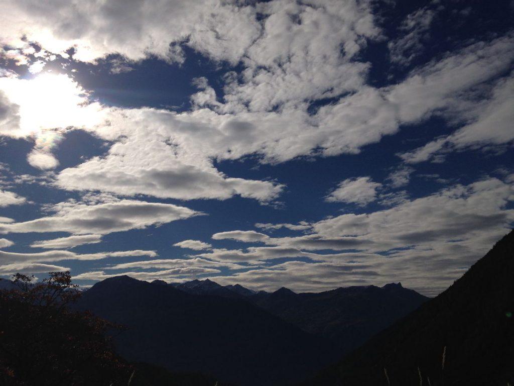 spezielle Wolkenmuster