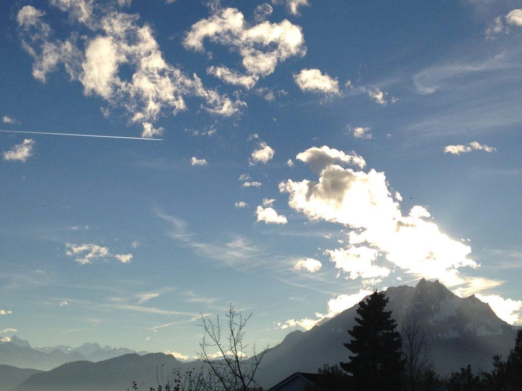 Pilatus mit Wolkenschmuck