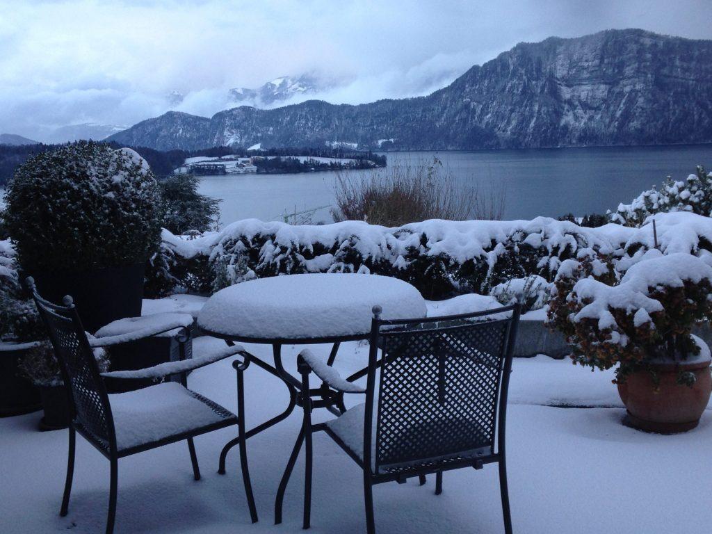 Winter, Sicht Richtung Bürgenstock