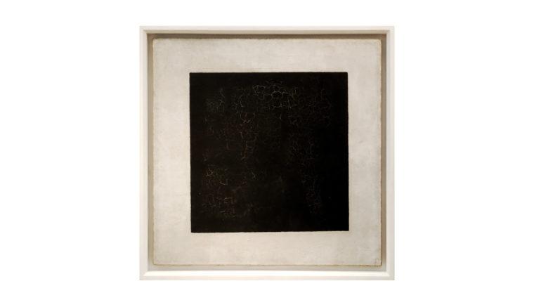 das schwarze Quadrat, Kasimir Malewitsch, 1915, Bild aus de. wikipedia.org