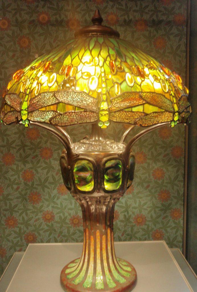 Tiffany Lampenschirm, Foto gemacht im Museum of Fine Arts in Boston