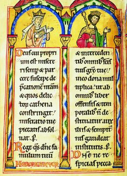 romanische Buchmalerei