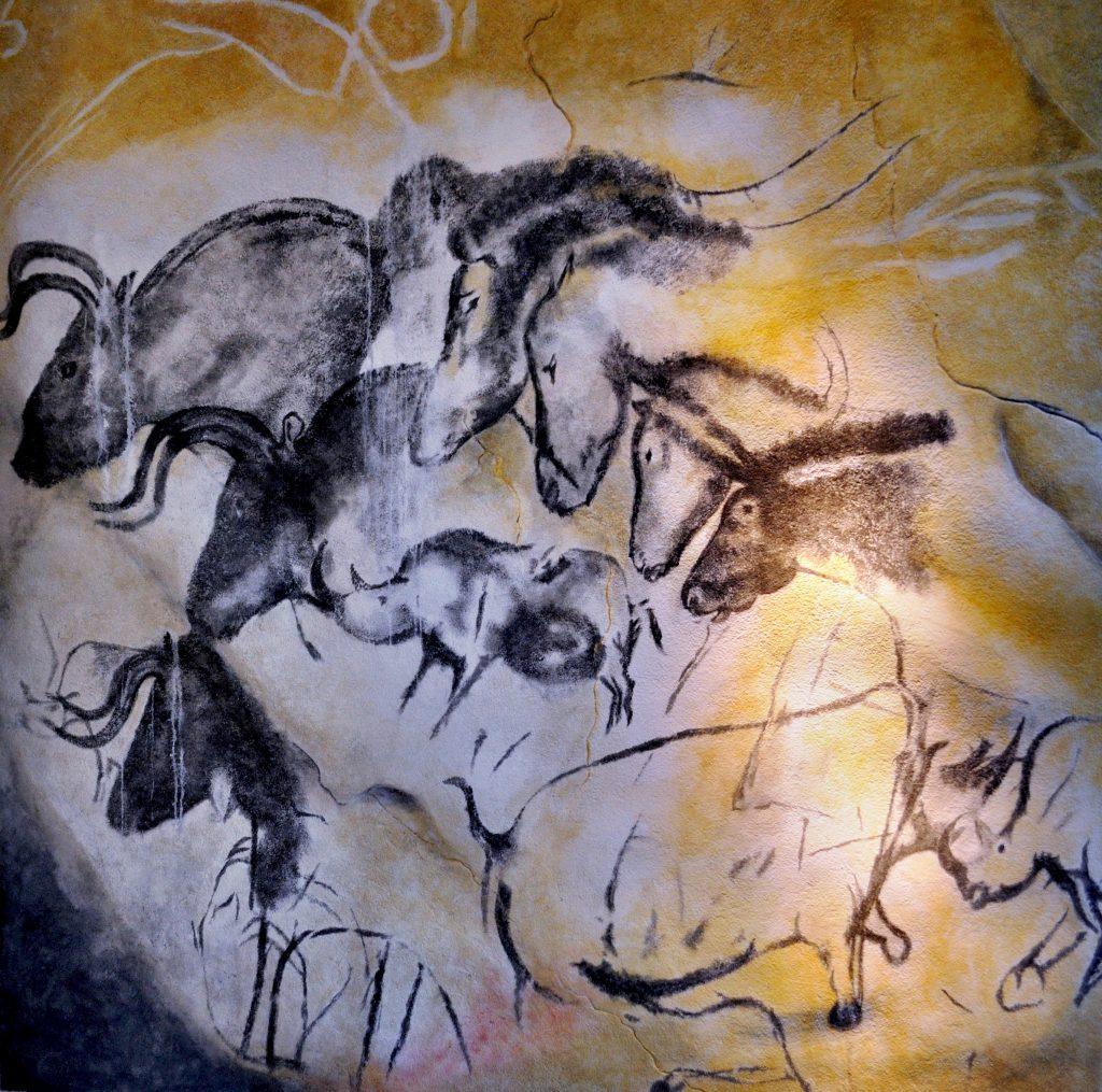 Pferde aus Chauvet Höhle