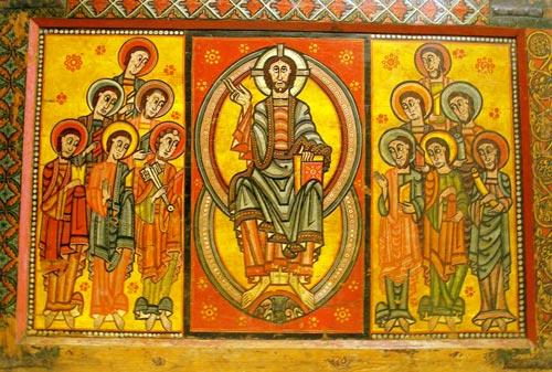 geistliche Szene aus-La-Seu-dUrgell