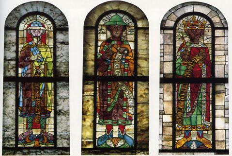Romanische-Glasfenster_Augsburger Dom