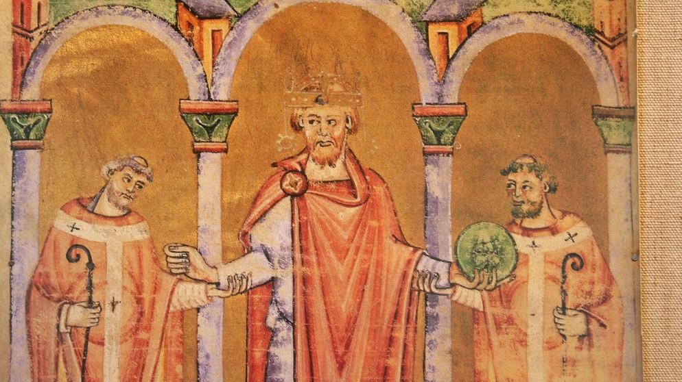 Romanik, Malerei mit weltlichem Motiv, Heinrich II
