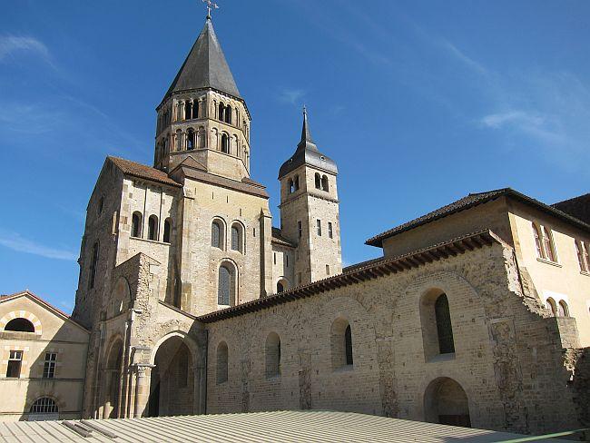 Abtei, Kloster, Cluny, Burgund, Frankreich