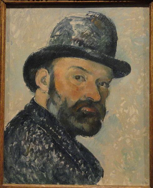 https://commons.wikimedia.org/wiki/File:Self_Portrait_with_Bowler_Hat_by_Paul_Cézanne,_1883-1887_-_Ny_Carlsberg_Glyptotek_-_Copenhagen_-_DSC09427.JPG